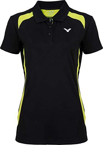 Victor Camiseta de bádminton para Mujer, Mujer, 696/3/6, Negro, 36