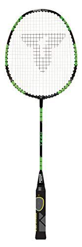 Talbot Torro Raqueta de Aprendizaje de Badminton ELI Teen, Longitud Acortada 63 cm, Mango de...