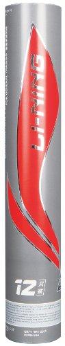 Li-Ning LNS00278 A Plus 90 - Plumas de bádminton, Color Blanco