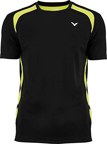 Victor Camiseta de bádminton Unisex, Unisex Adulto, Camiseta de bádminton, 694/0/0, Negro,...