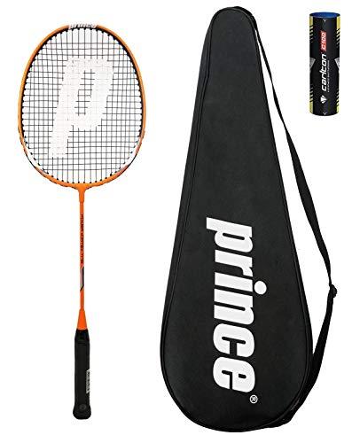 Prince Power Ti 75 Badminton Raqueta + 6 Volantes (Varias Opciones) (Vortex)