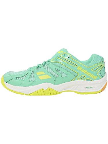 Babolat 31S1612 - Zapatos de bádminton para Mujer, Color Verde, Color Verde, tamaño 37 EU