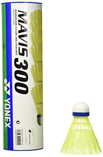 YONEX Mavis 300 - Volantes de Badminton (6 unidades), Amarillo