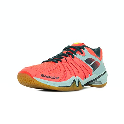 Babolat Shadow Spirit Men 30S1703GRISROUGE, Zapatillas de Bádminton - 40 EU