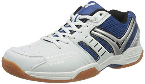 Victor V de 300Indoor Zapatillas de deporte/bádminton Zapatos/Halle, Azul/Blanco, color Azul,...