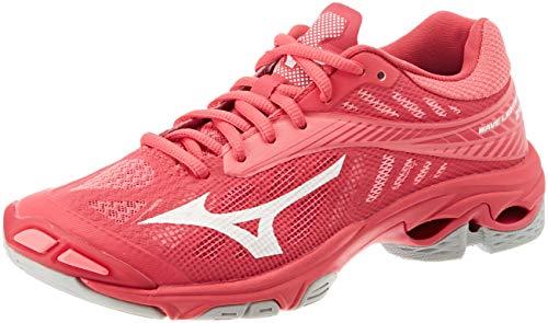Mizuno Wave Lightning Z4, Zapatillas Mujer, Rosa (Azalea/Wht/Camelliarose 001), 38 EU