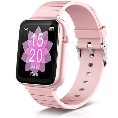 SmartWatch 1.54, reloj de pulsera con pulsómetro, rastreador de fitness IP68, monitor de actividad,...