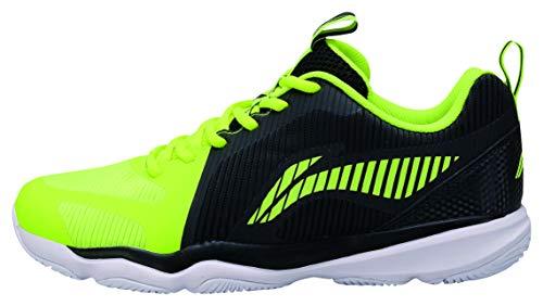 Li Ning Zapatillas de bádminton para hombre, color negro y amarillo, color Negro, talla 47 2/3 EU