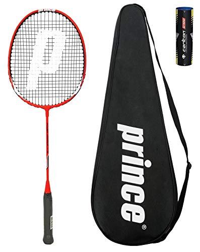 Prince Power Ti 75 Badminton Raqueta + 6 Volantes (Varias Opciones) (Warrior)