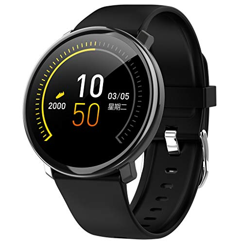 Bearbelly Smartwatch, Android iOS Smart Watch, Pantalla de Raqueta 1.22 TFT Sport Reloj Inteligente...