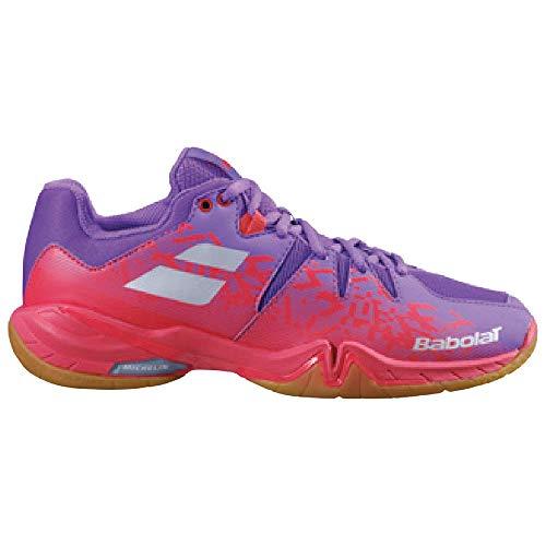 Babolat Shadow Spirit Women 2020 - Zapatillas deportivas para mujer (talla 4,5 (37), color rojo y...