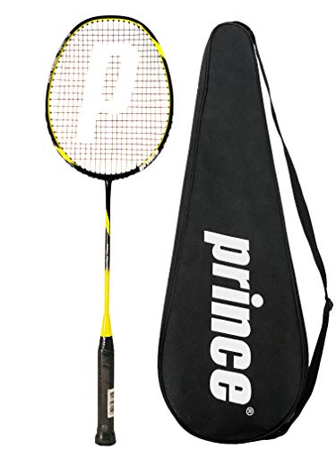 Prince Pro Rebel Nano raqueta de bádminton + cubierta completa