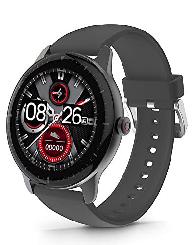 DOOGEE CR1 Smartwatch, Reloj Inteligente Impermeable IP68 para Hombre Mujer Niños con Pulsómetro,...