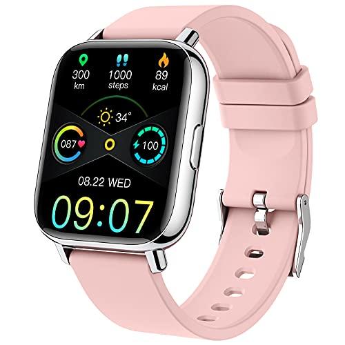 Smartwatch,1.69''RelojInteligenteMujerPulseraActividadInteligenteconPulsómetro/Mon...