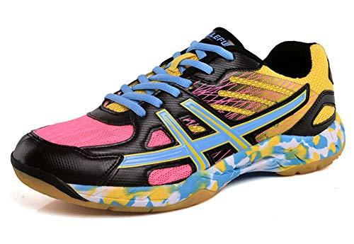 Zapatillas de bádminton Transpirables Zapatillas Deportivas de Interior Confort Antideslizante