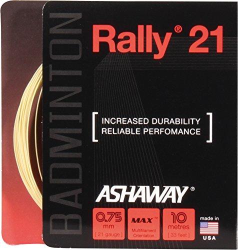 ASHAWAY Rally 21 - Cordaje para Raqueta de bádminton Talla:Rolle