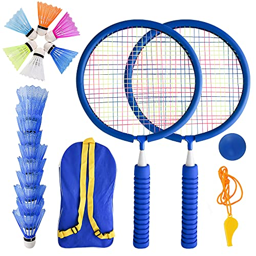 Herefun Raquetas Badminton Niños, Set de Bádminton para Niños, Raqueta de Juguete Deportivo...